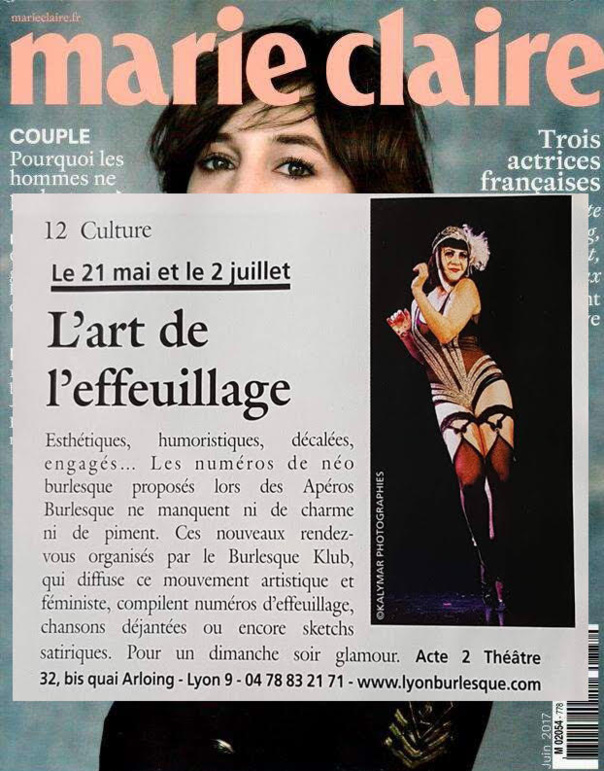 Les apéros burlesques - Le Burlesque Klub