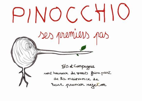 PINOCCHIO, SES PREMIERS PAS - dès 2 ans  - 40 MN - Bis & Cie