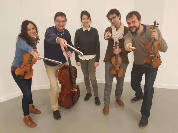 """L ARBRE ET LA GRUE -  Dès 5 ans  -  L ' Orchestre national en coproduction avec l'association """"Musique en Lay"""""""