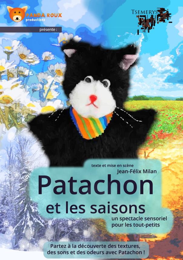 PATACHON ET LES SAISONS -1 à 5 ans - 30 mn - Compagnie  Tsemerys