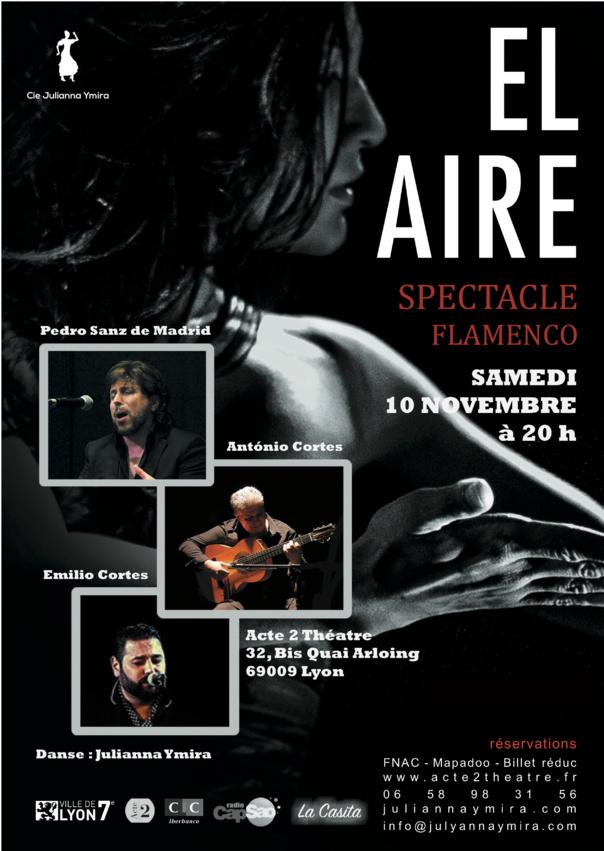 Flamenco El Aire - de  Julianna Ymira