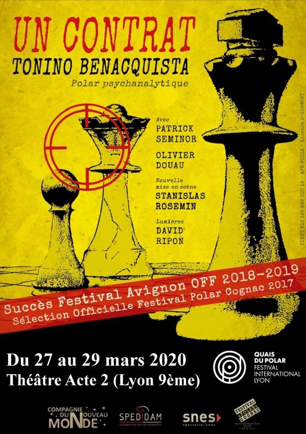 UN CONTRAT  - de Tonino Benacquista   - Polar psychanalytique - 1h20