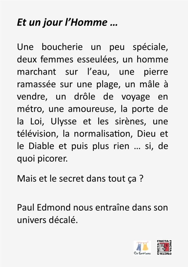 HISTOIRE DE L'HOMME  - PAUL EMOND  -  CIE ENTRAXE