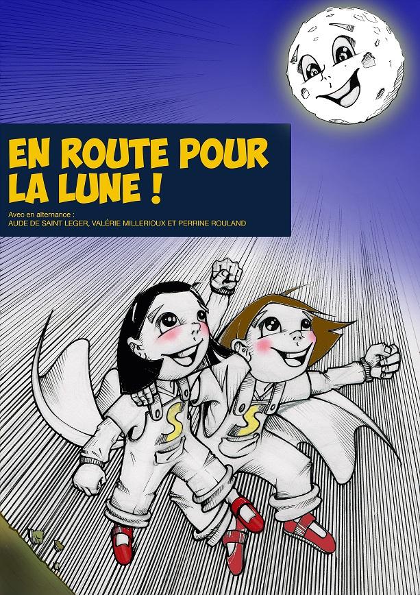 EN ROUTE POUR LA LUNE  dès 4 ans - 45 mn - Compagnie Art Scénic