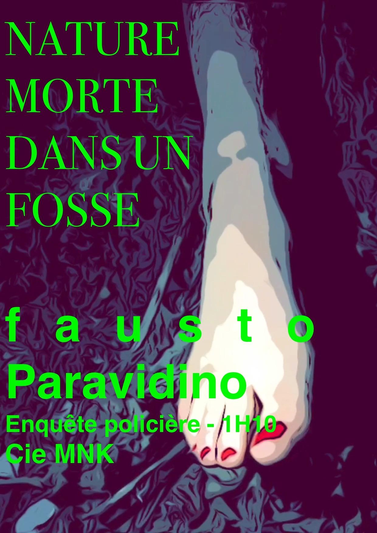 NATURE MORTE  de Fausto Paravidino  -  Polar - Compagnie MNK