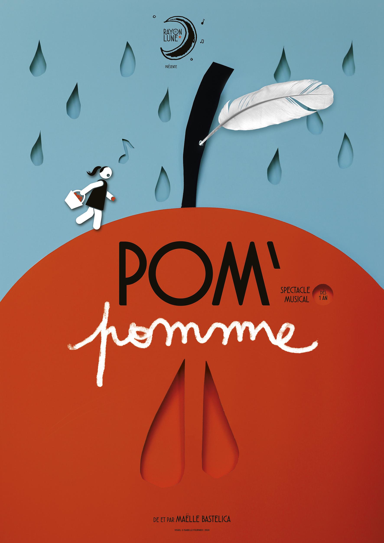 POM'POMME - SPECTACLE  MUSICAL - DES 12 MOIS - 30 mn  - CIE RAYON DE LUNE