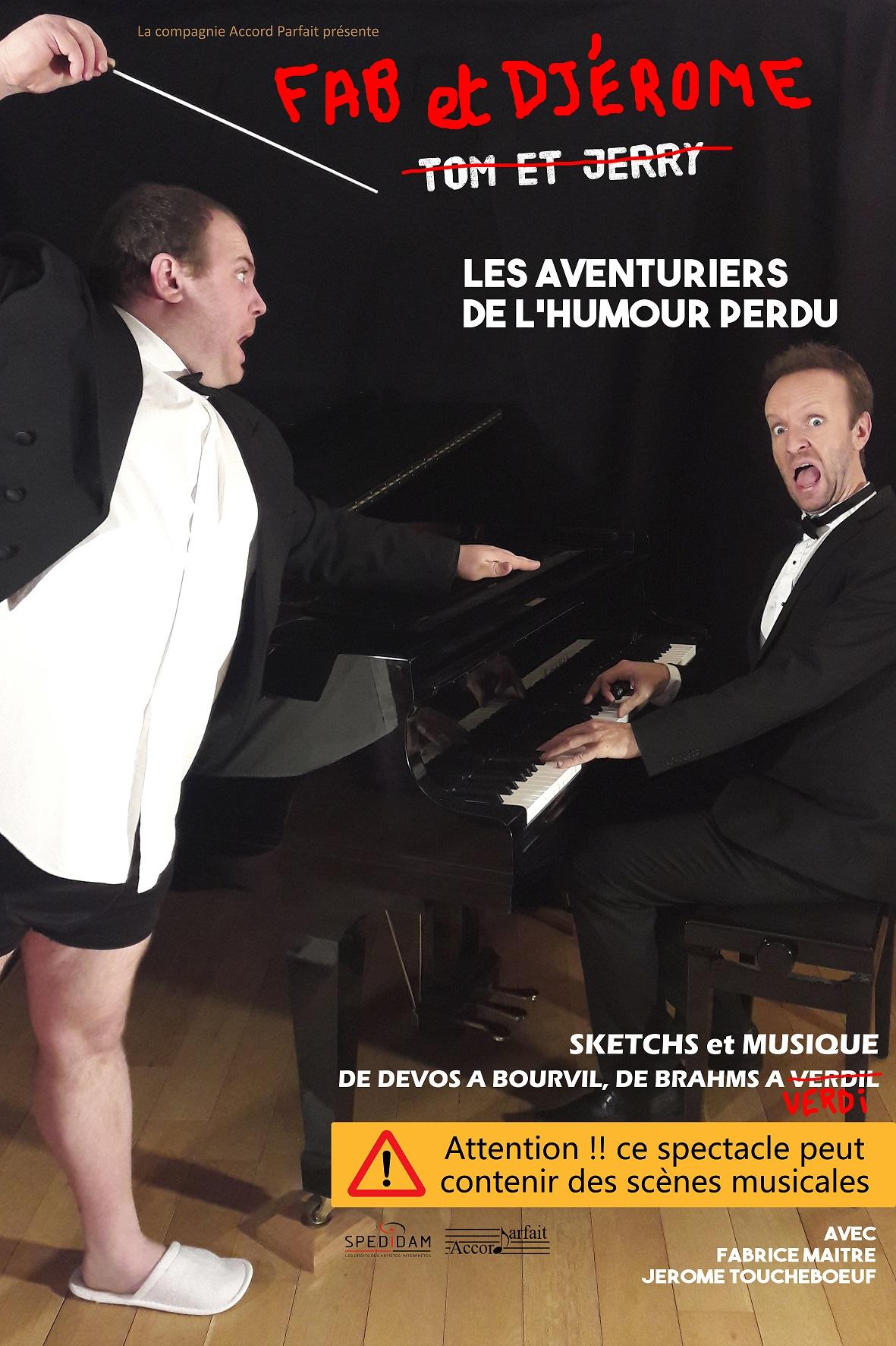 REVEILLON 2019 - LES AVENTURIERS DE L'HUMOUR -  DEVOS à BOURVIL -1h30