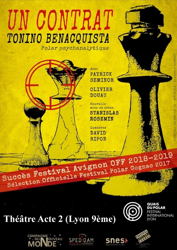 UN CONTRAT  - de Tonino Benacquista   - Polar psychanalytique - 1h20 EN COURS REPROGRAMMATION