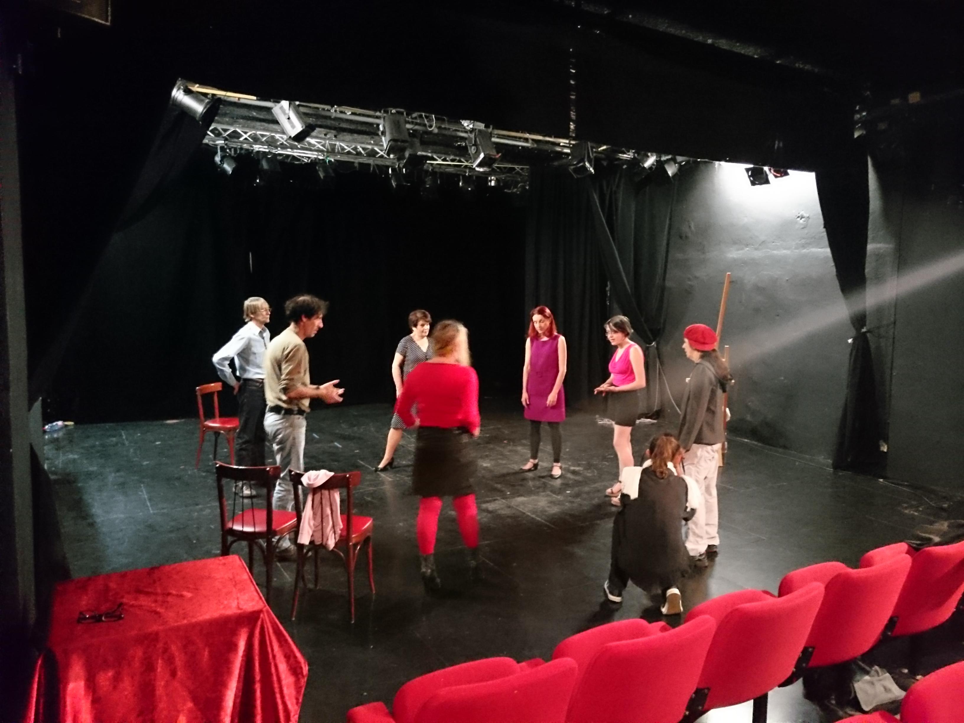 Ateliers Théâtre  séances d essais
