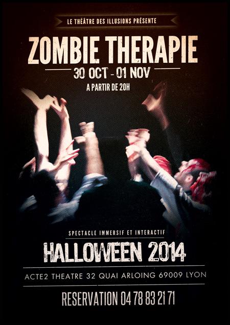 Zombie thérapie - Halloween 2014 Magie-Humour-Frisson