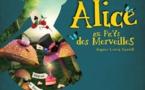 ALICE AU PAYS DES MERVEILLES - 45 mn -  à partir de 5 ans - Cie et son personnel de bord
