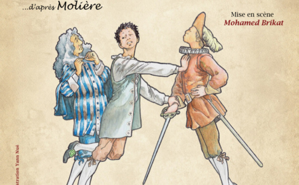 LES FOURBERIES DE SCAPIN - D 'APRES MOLIERE - 1 h25 - LA COMPAGNIE DES IDIOTS